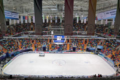Ice arena Stock Photo
