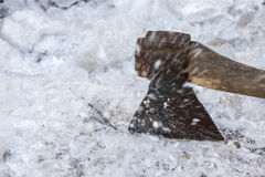 And ice ax Stock Photos