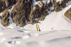 Ice axe Royalty Free Stock Images