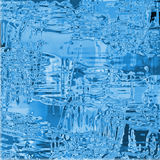 Ice background. Abstract blue glass and ice background Stock Photography