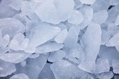 Ice background Stock Image