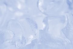 Ice background. An ice background in blue Royalty Free Stock Photo