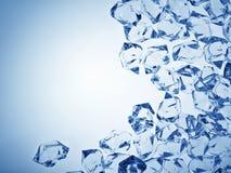 Ice background Stock Photography