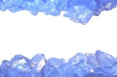 Ice background. Isolate on white Royalty Free Stock Image