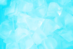 Ice  background close up view Stock Photos
