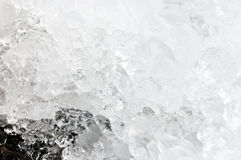 Ice (the background) Royalty Free Stock Photos