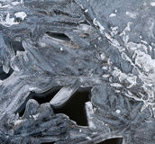 Ice (the background) Stock Images