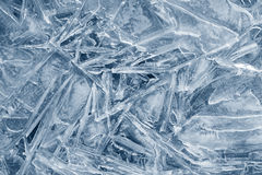 Ice background. ice with different shapes and cracks. Royalty Free Stock Images