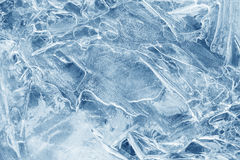 Ice background. ice with different shapes and cracks. Royalty Free Stock Photo