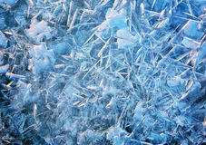 Ice background. Royalty Free Stock Photography