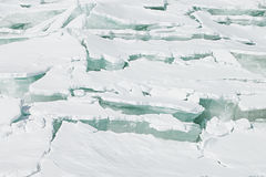Free Ice Background Of Huge Blocks Of Aqua Ice From Fractured Floes. Stock Photo - 82115350
