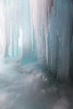 Ice background vertical Stock Photography