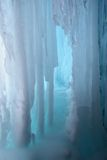 Ice background vertical Royalty Free Stock Photo