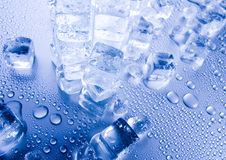 Ice backgrounds Royalty Free Stock Images