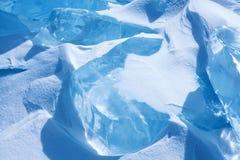 Ice of Baikal Royalty Free Stock Photography