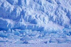 Ice of Baikal Stock Photography