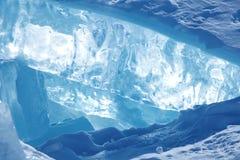 Ice of Baikal Stock Photos
