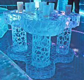 Ice Bar, Barcelona Royalty Free Stock Images