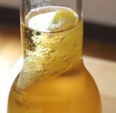 Ice beer Stock Photography
