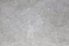 Ice for beverages. Royalty Free Stock Images