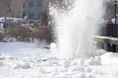 Ice Blast Stock Image