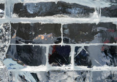 Ice Block Texture Background. Stock Photos