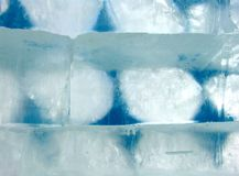 Ice blocks Royalty Free Stock Photography