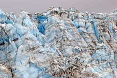 Ice blocks in Alaska. Ice Blocks of the Child's Glacier in Alaska Royalty Free Stock Photo