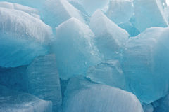 Ice blocks from fresh water for fine background Stock Photos