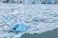 Ice Blocks Perito Moreno Argentina Stock Image