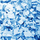 Ice blue background Stock Images
