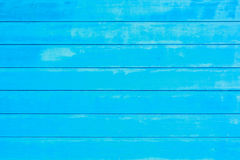 Ice blue horizontal planks Stock Photos