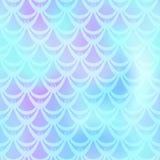 Ice blue mermaid  background. Cyan iridescent background. Stock Photography