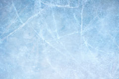 Ice blue. Textured ice blue frozen rink winter background Stock Photography