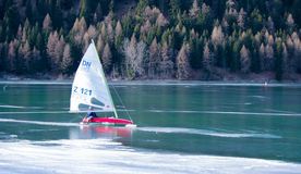 Ice-boat Royalty Free Stock Photos
