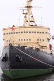 Ice-breaker in port Stock Image