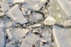 Ice broken Royalty Free Stock Photography