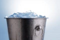 Ice bucket Royalty Free Stock Image