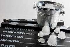 Ice bucket Royalty Free Stock Photo