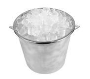 Ice bucket Royalty Free Stock Photography