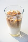 Ice cafe latte Royalty Free Stock Images