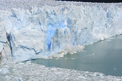 Ice Calving off of Glacier Stock Photos