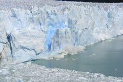 Ice Calving off of Glacier Stock Photos