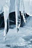 Ice candles Stock Images