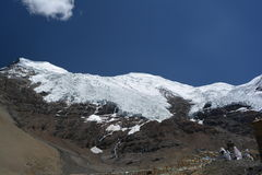 Ice-capped mountain Stock Photos