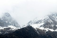 Ice Capped Mountains Royalty Free Stock Images