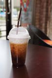 Ice cappuccino Stock Photo