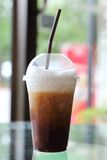 Ice cappuccino Stock Images