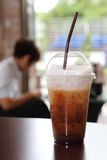Ice cappuccino Royalty Free Stock Images