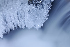 Ice and Cascade Stock Images